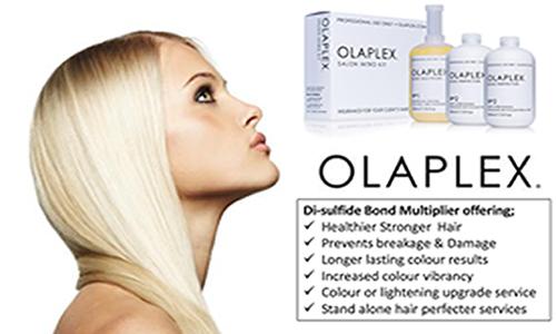 Olaplex xpert professional defrenza salon gymea for Olaplex salon